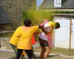 muco, roskolor, virade, roscoff, color run